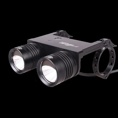 BL200XQII 2 X CREE XM-L 860 lumens LED Bicycle light with new clamp and electric bike support